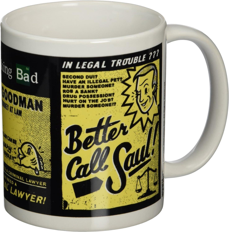Breaking Bad Pyramid International (Better Call Saul) Official Boxed Ceramic CoffeeTea Mug, Multi Colour, 11 oz315 ml
