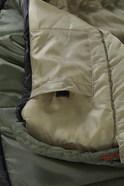 saco de dormir tipo momia azul//negro 301005 GRAND CANYON Fairbanks 3 estaciones