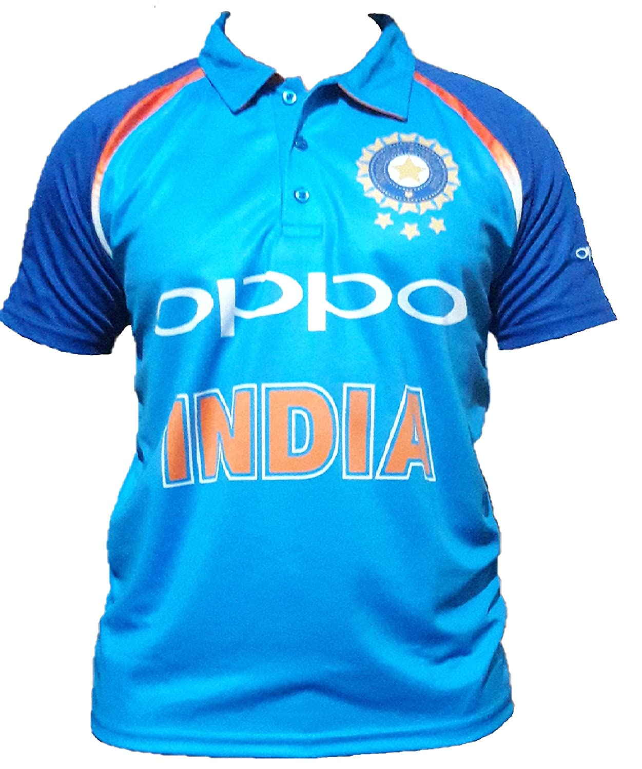 Amaze Mens Cricket Sports Team India ODI T-20 Cricket Supporter Jersey for Mens AmazeWorld