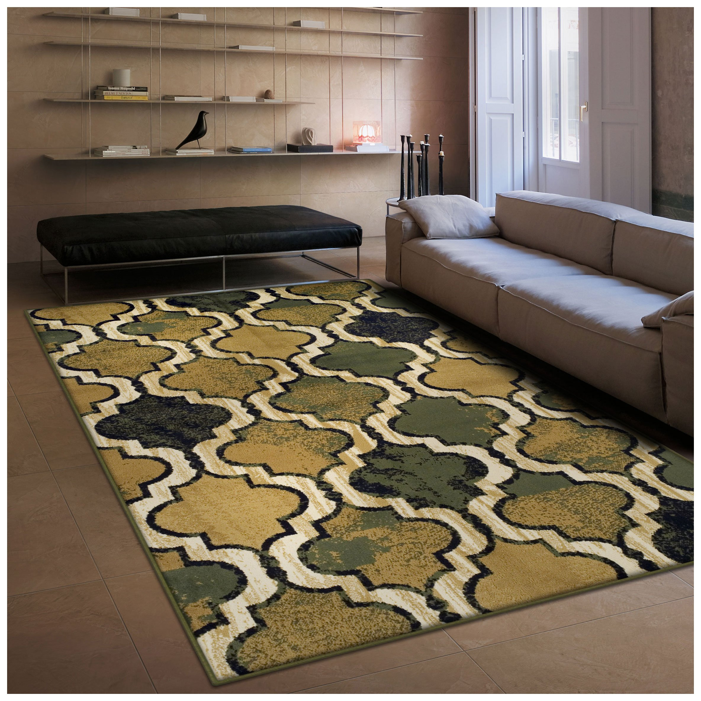 Amazon.com: Superior Modern Viking Collection Area Rug, 10mm Pile ...