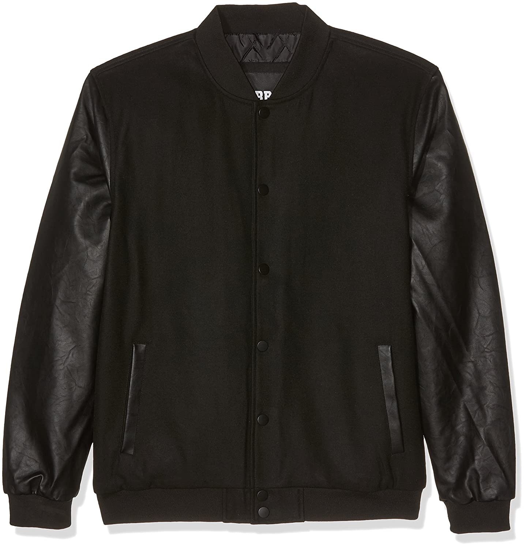 Urban Classics Oldschool College Jacket Chaqueta para Hombre