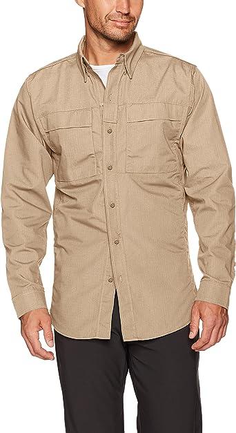 Tru-Spec Camisa de Vestir para Hombre, Tru Urban Force P/CR/S l/S