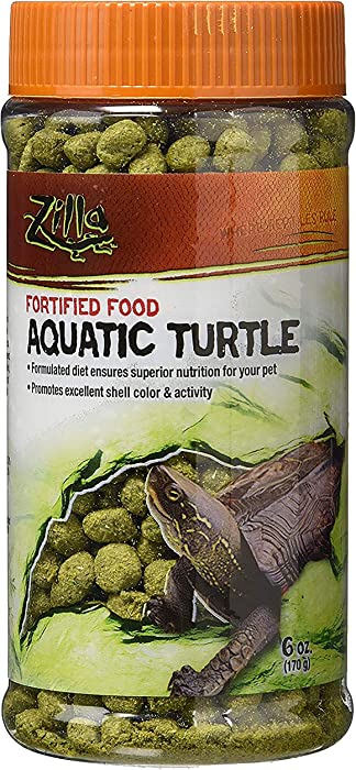 Top 8 Fortified Turtle Food