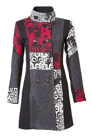 Sambosa 25 Designs-Sehr schöner Damen Luxus Winter Mantel Patchwork  Trenchcoat 34 36 38 40 42 44 45  Amazon.de  Bekleidung 6c5fcb01d9
