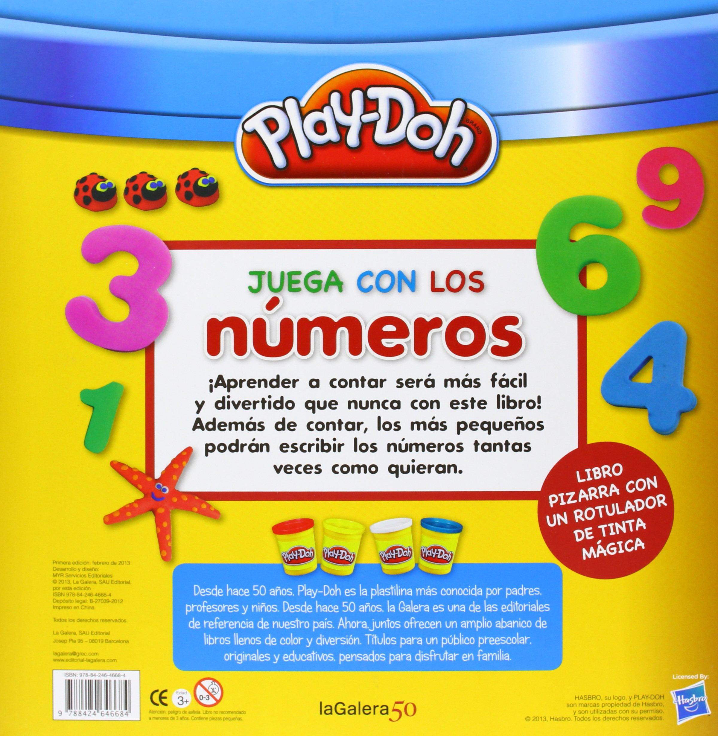 Play-Doh. Juega con los números: VV.AA.: 9788424646684 ...