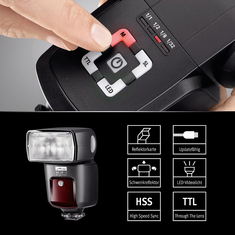 Mecablitz 44 Af 2 Für Sony Kameras Blitzgerät Mit Kamera