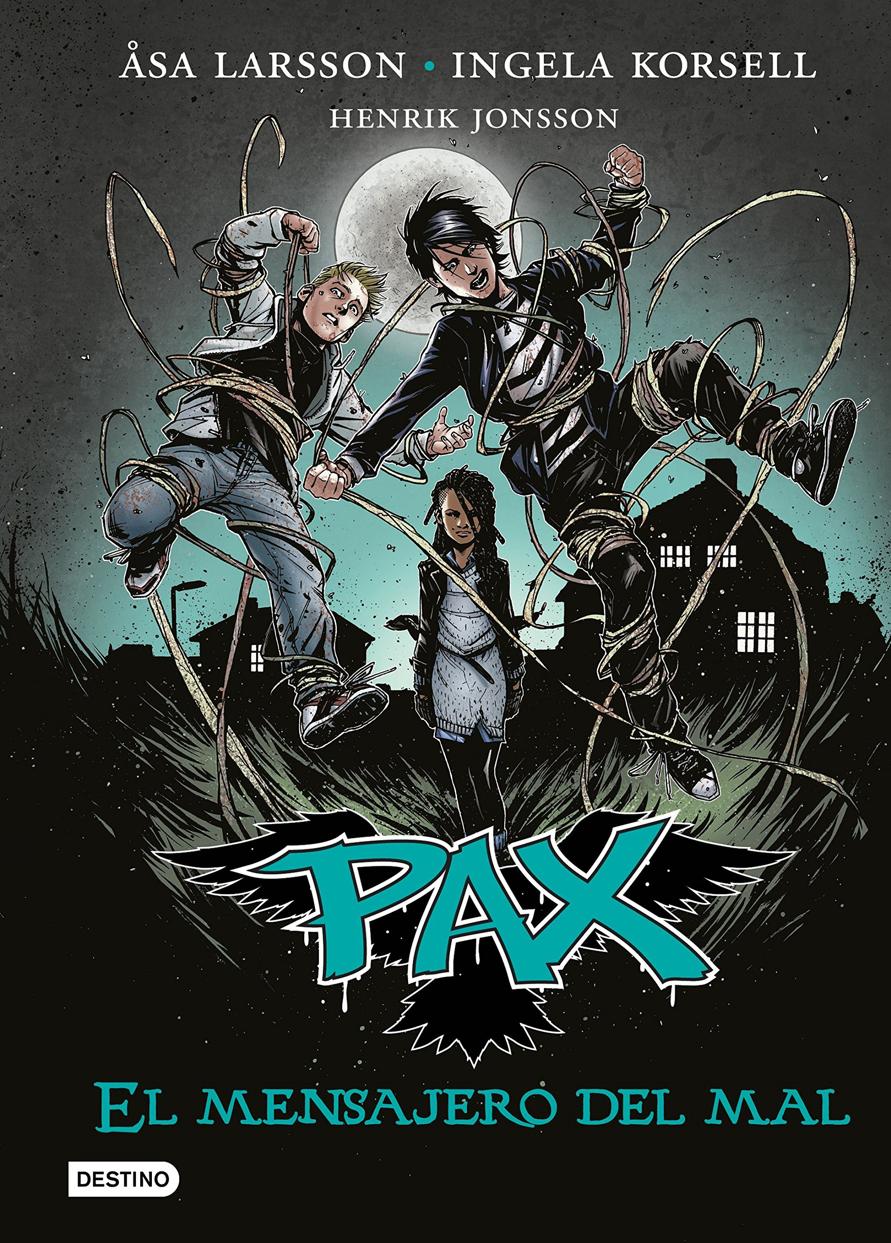 Download Pax # 4: El mensajero del mal (Spanish Edition) pdf