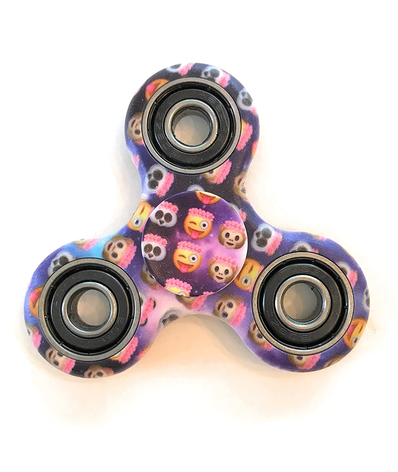 Spinner Squad High Speed Longest Spin Time Fidget Spinners flower crown emojis