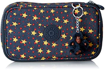 Kipling 50 PENS Pencil Cases, 21 cm, 1 liters, Multicolour (Cool Star Boy)