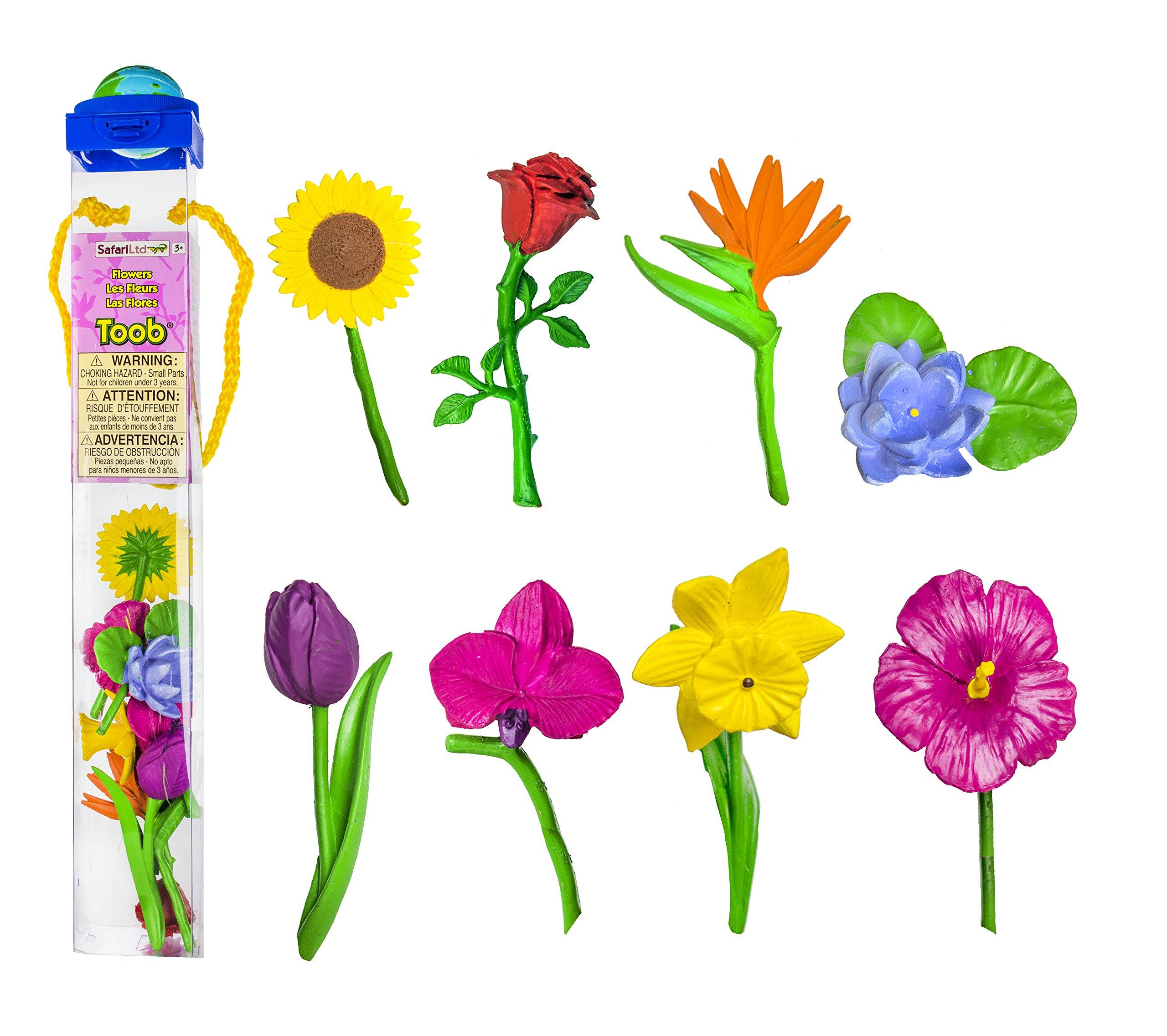 Safari Ltd Flowers TOOB