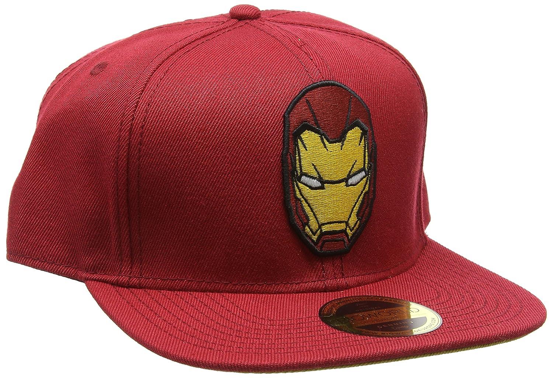 Meroncourt Unisex Captain America Civil War - Iron Man Snapback Baseball Cap 1c7e04314aff