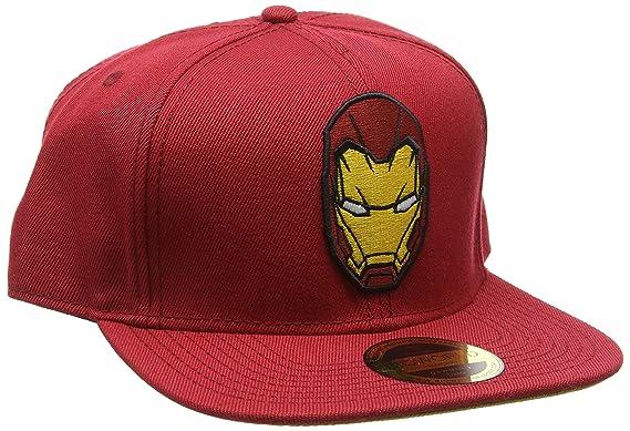 7eb85b5516c62 Meroncourt Unisex Captain America Civil War - Iron Man Snapback Baseball Cap