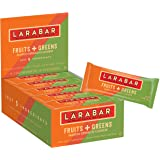 LÄRABAR Larabar Gluten Free Bar, Fruits + Greens, Mango Spinach Cashew, 1.24 oz Bars (15 Count)