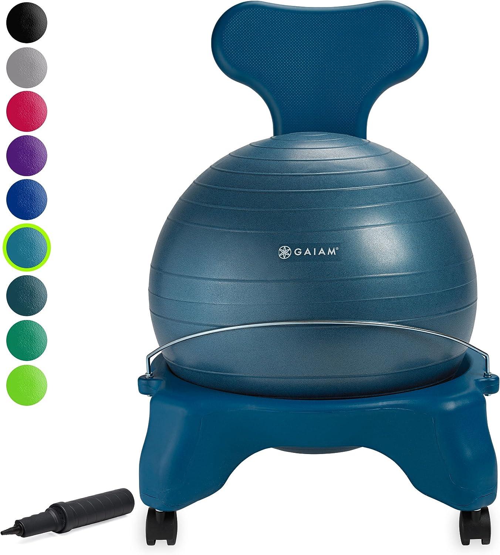 5. Balance Ball Desk Chair