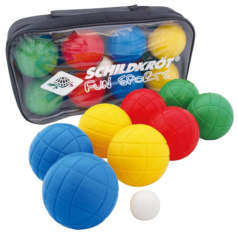 Schildkrot Fun Sports Fun Boccia Plastic Bowls - Multi-Colour by Schildkrot Fun Sports Schildkröt Fun Sports 970009