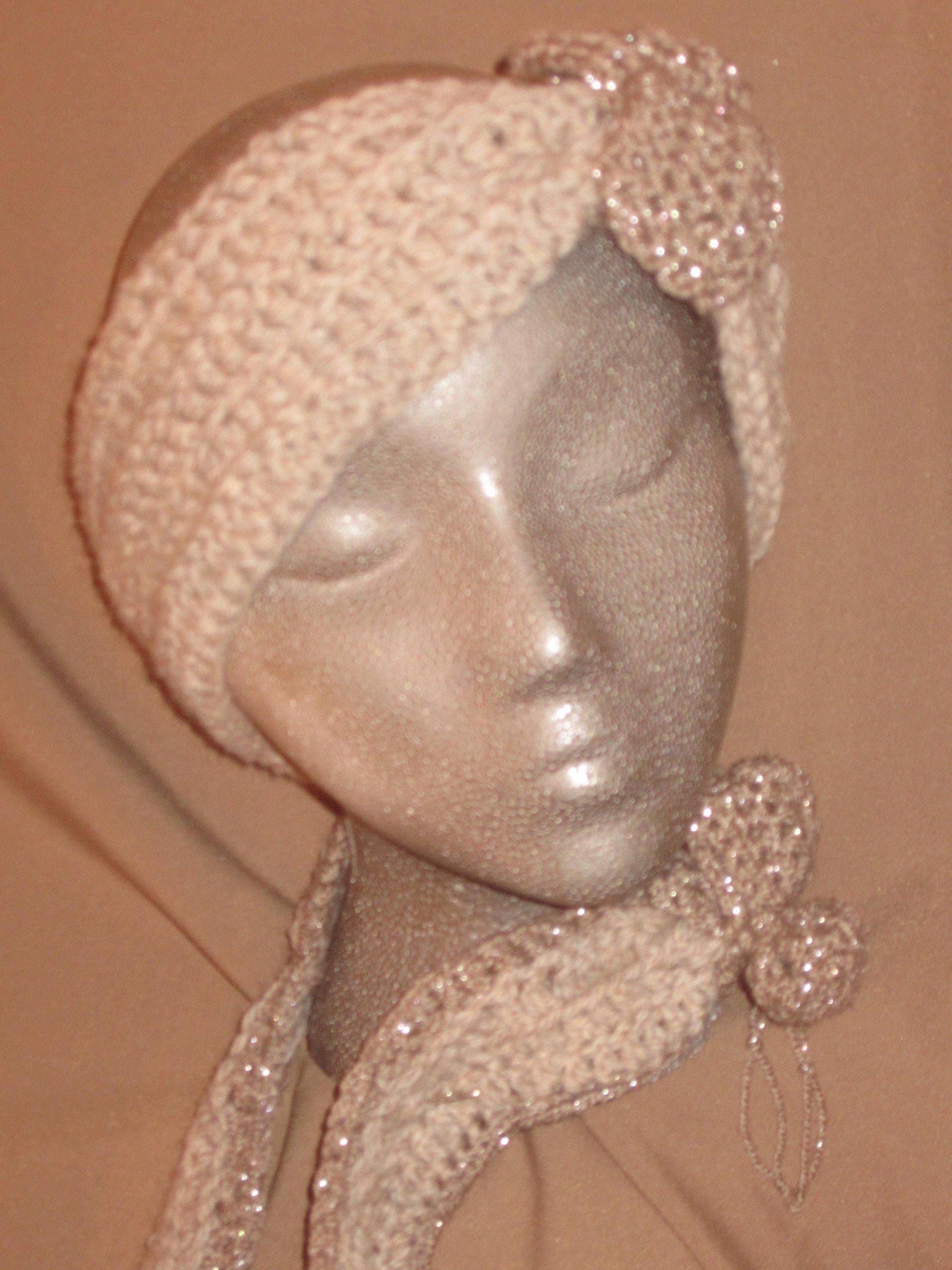 Diadem Headband and Scarf (one-of-a-kind) Original Design by D'Arcy Originale