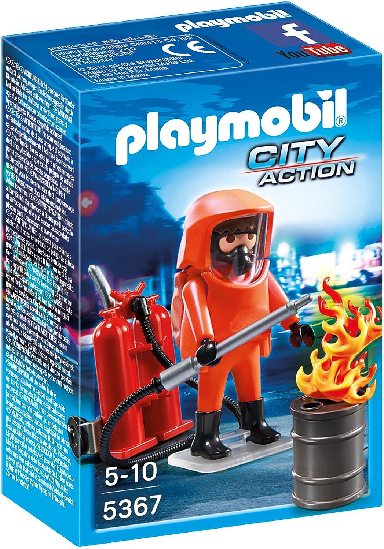 Playmobil Feuerwehr Zubehör - Playmobil Feuerwehr-Spezialeinsatz