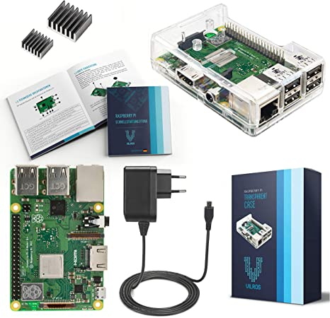 V Kits Raspberry Pi 3 Model B Basic Starter Computer Zubehör
