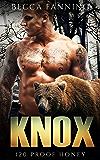 Knox (BBW Bear Shifter Moonshiner Romance) (120 Proof Honey Book 2)