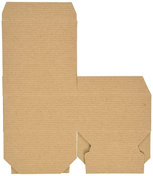 4in. X 4in. X 2in. Kraft Gift Boxes - pack of 10