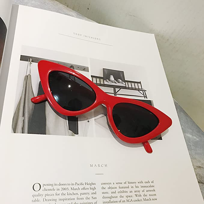 VVIIYJ Hip Hop Gafas de sol Cat Eye Sunglasses Uv Protection ...