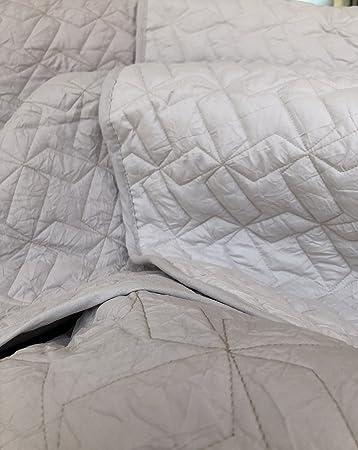 62d2b333bc51 Quilt copriletto PAGODA SABBIA tessuto mircrofibra effetto stropicciato  matrimoniale (cm.260x270) CALEFFI: Amazon.it: Casa e cucina