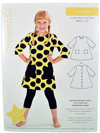 Schnittmuster Kleid für Kinder/Gr. 56-146cm / 5x0010: Amazon.de ...