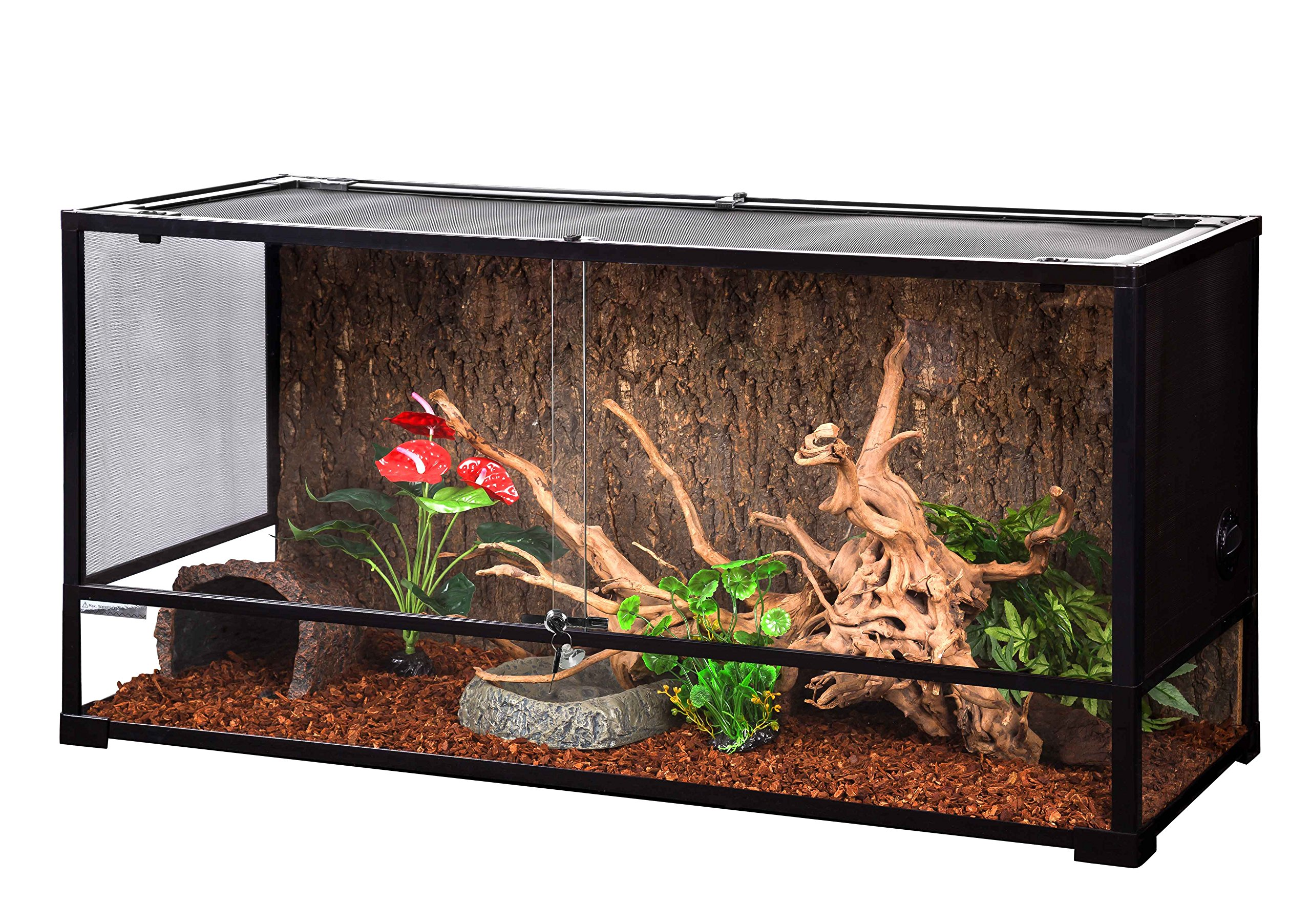Oiibo Knock Down Glass Terrarium (Extra Large, Tall 47'' x 18'' x 24'') by Oiibo (Image #1)