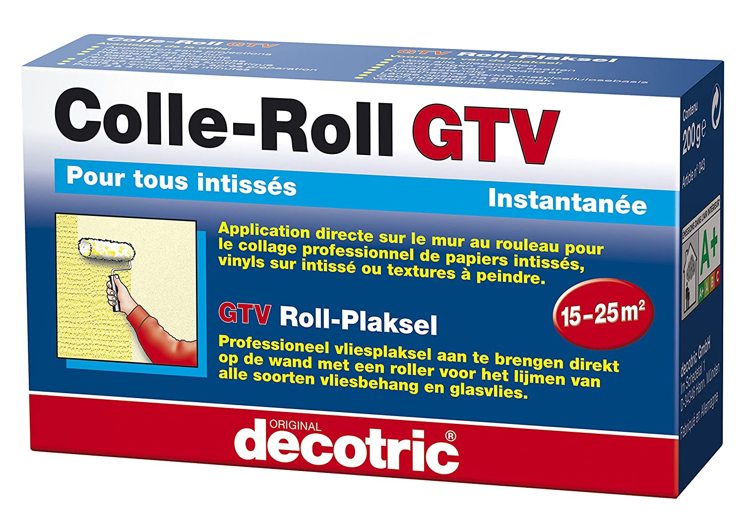 Decotric Roll de cola GTV para papel pintado, 200  g, 020502183 200 g