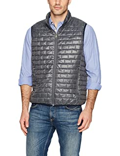 978c325e Tommy Hilfiger Men's Competitor Vest (Small, Navy Blue) at Amazon ...