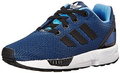 adidas Originals ZX Flux EL I Running Shoe (Toddler), Rich Blue Black 729e5bd0a8b7