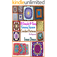 10 Simple & Easy Granny Square Crochet Patterns for Beginners