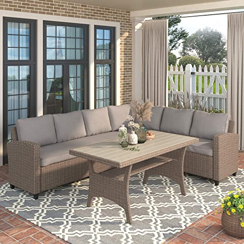 Merax Outdoor Patio Furniture Set