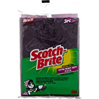 Scotch-Brite Extra Heavy Duty Flexible Scrub, Green, Pack of 3 ET-3M