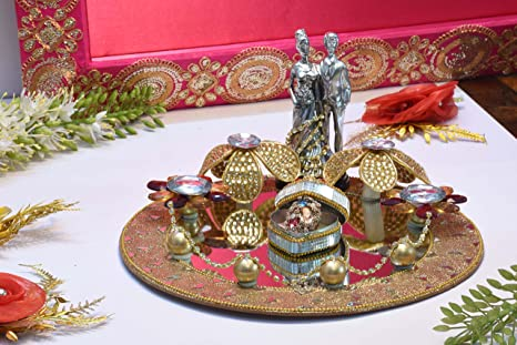 Buy Giftingbestwishes Tray Decorative Tray Engagement Ring Platter