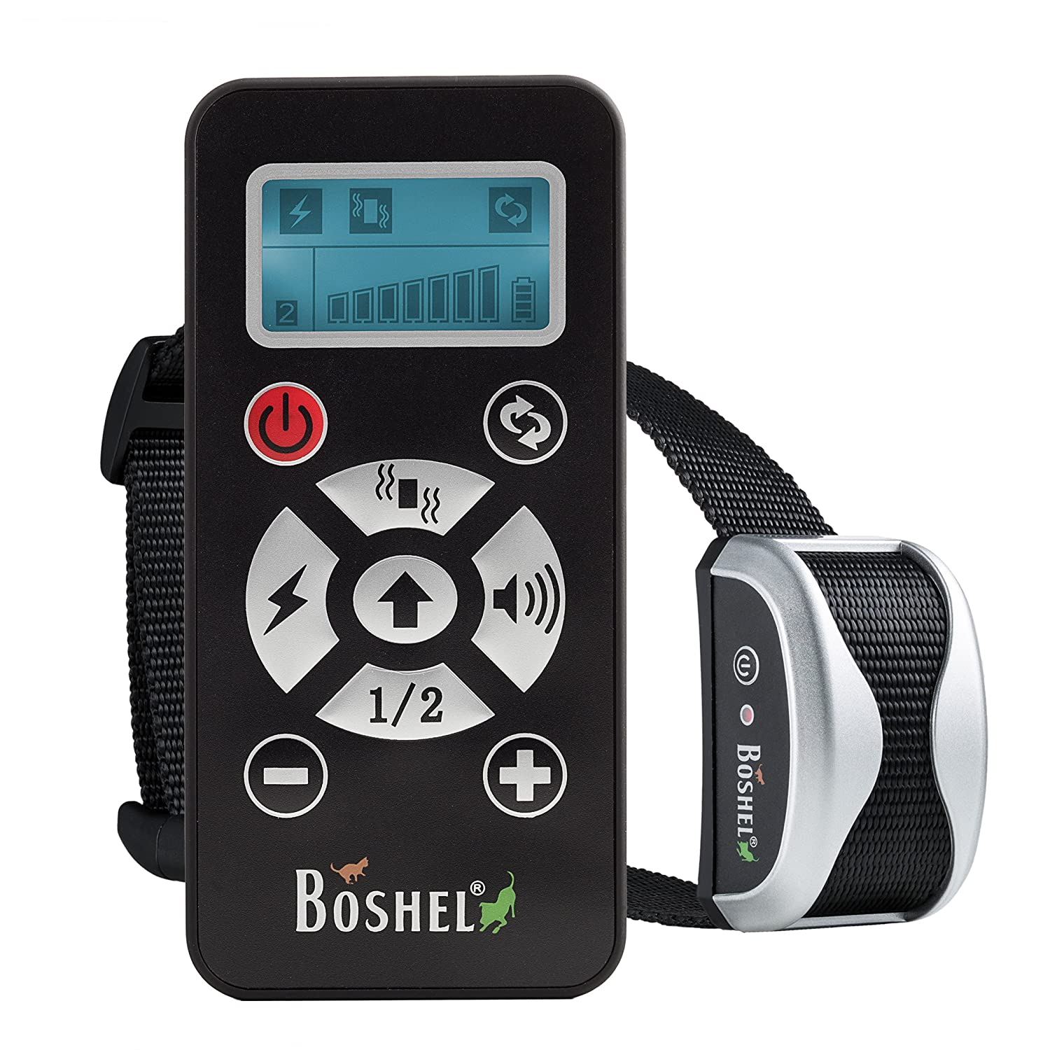 shock collar for dogs by boshel 2 in 1 remote