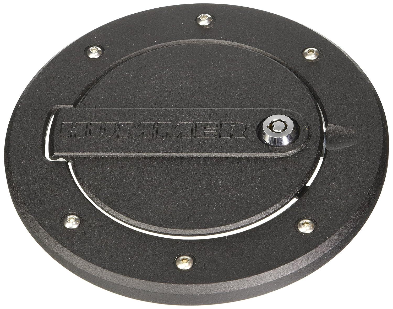Defenderworx H3PPB08060 Black Locking Fuel Door for Hummer H3