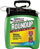 Scotts Miracle-Gro - Roundup Fast Action, Erbicida con pompa, 5 l