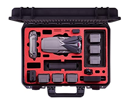31f42d1e551 Amazon.com: Professional Carrying Case for DJI Mavic 2 Pro & Zoom and DJI  Standard Controller and DJI Smart Controller - Perfect Suitcase - Made in  Germany: ...