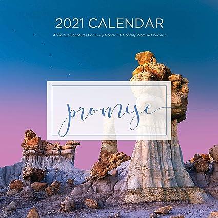 Calendario 2021 promessa, calendario cristiano, foto, versi della