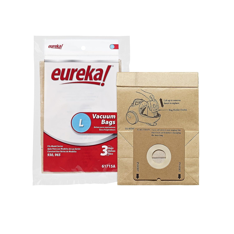 Genuine Eureka Premium Style L Vacuum Bag 61715A - 3 bags Midea