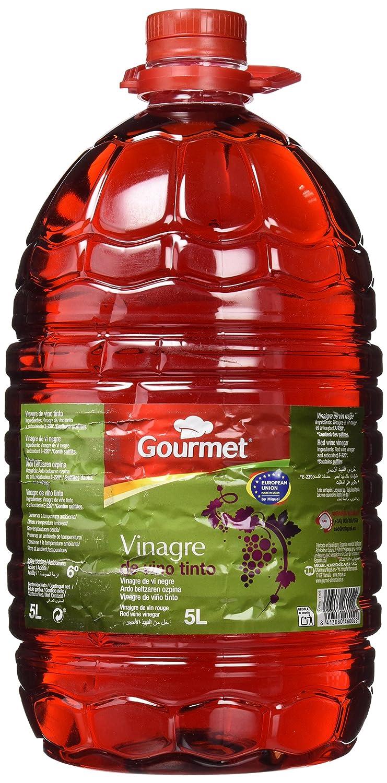 Gourmet - Vinagre de Vino Tinto - 5 l: Amazon.es: Alimentación y ...