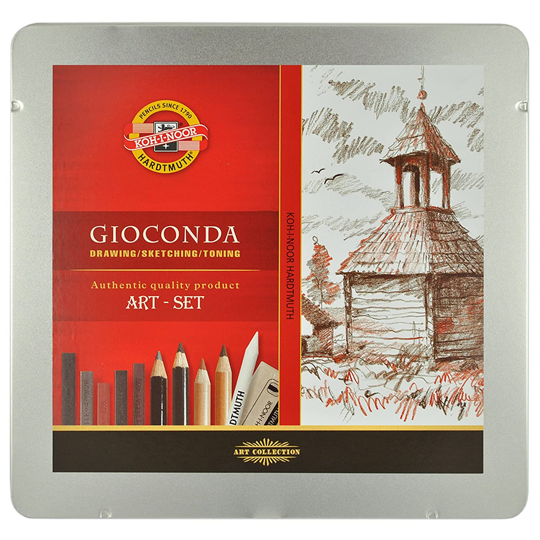 Künstlerset Art-Set Koh-I-Noor Gioconda 8899 Zeichnen Malen Skizzieren Grafik