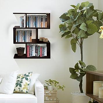 Klaxon home decor wooden wall shelves book shelf and storage klaxon home decor wooden wall shelves book shelf and storage wall shelves brown solutioingenieria Gallery