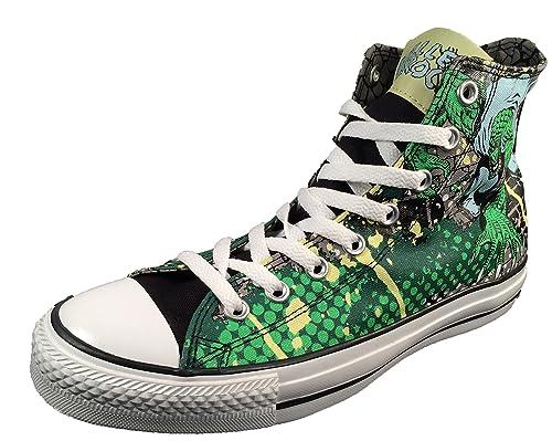 2a9701cde33a Converse Men s DC Comics Killer Croc Batman Villain Sneakers Chuck Taylor  ...