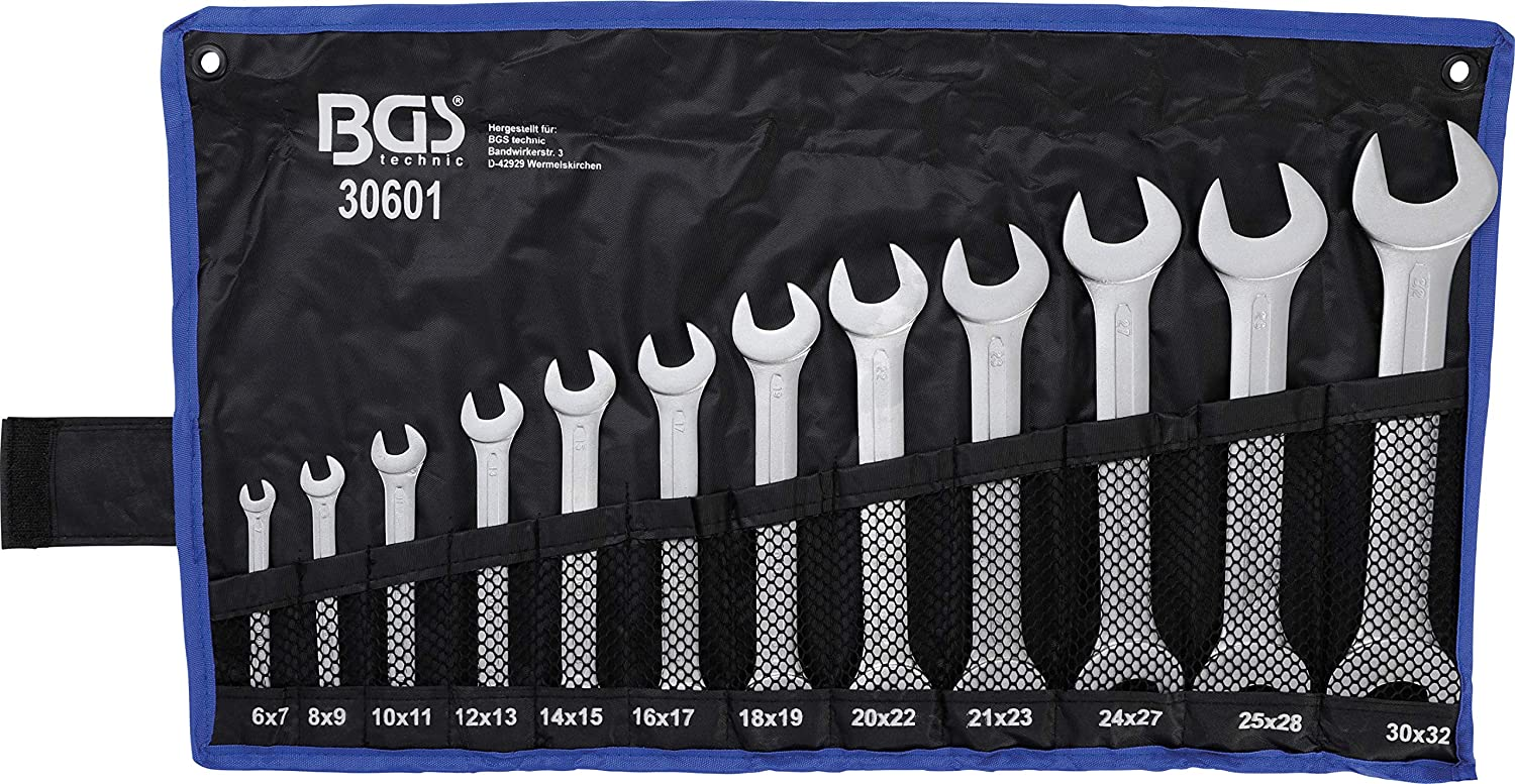 BGS 10879 Socket Spanner Insert 12-Point 6.3 mm 1//4 Inch SW 15//32 Inches