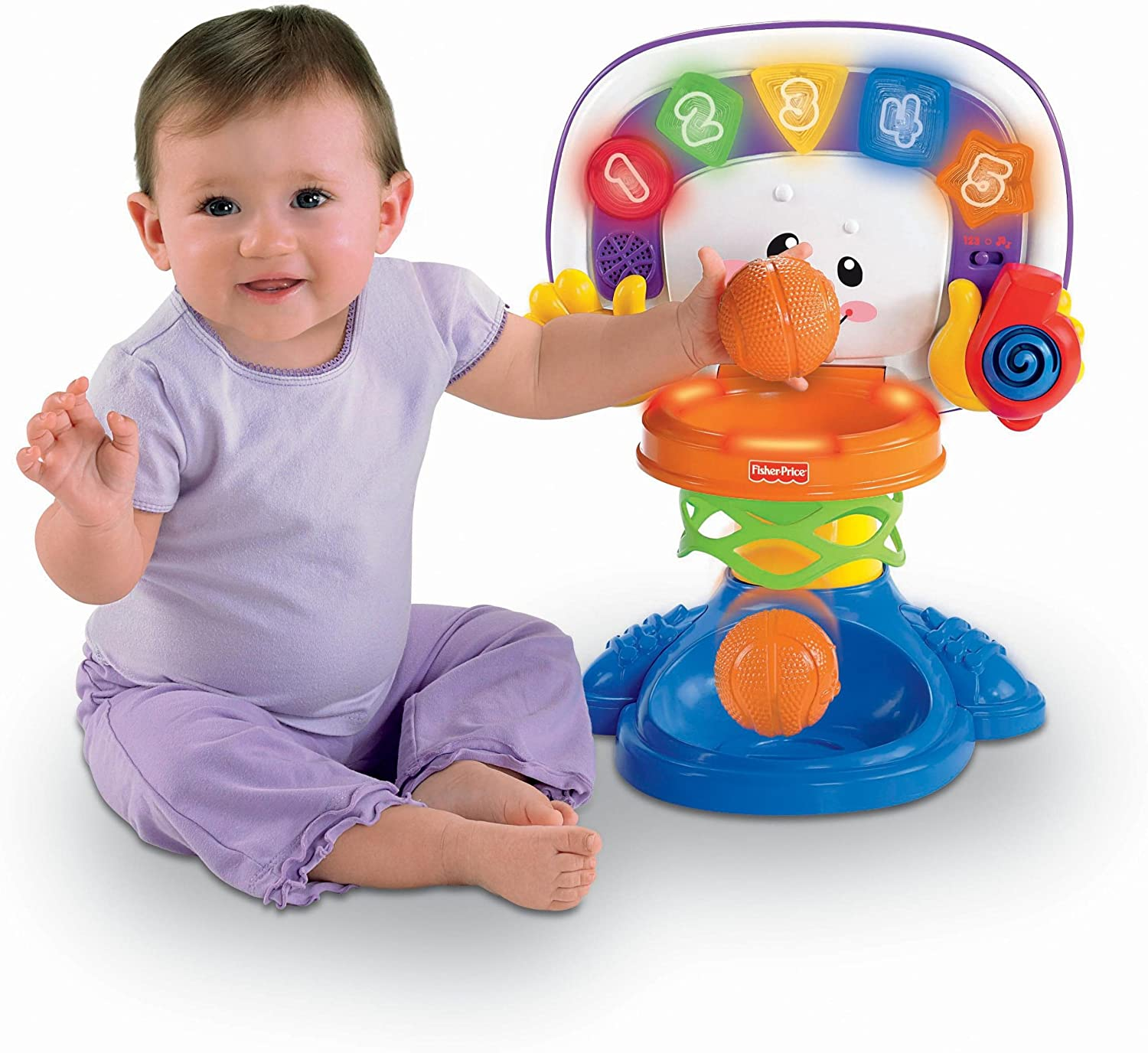 Fisher-Price Laugh & Learn Basketball