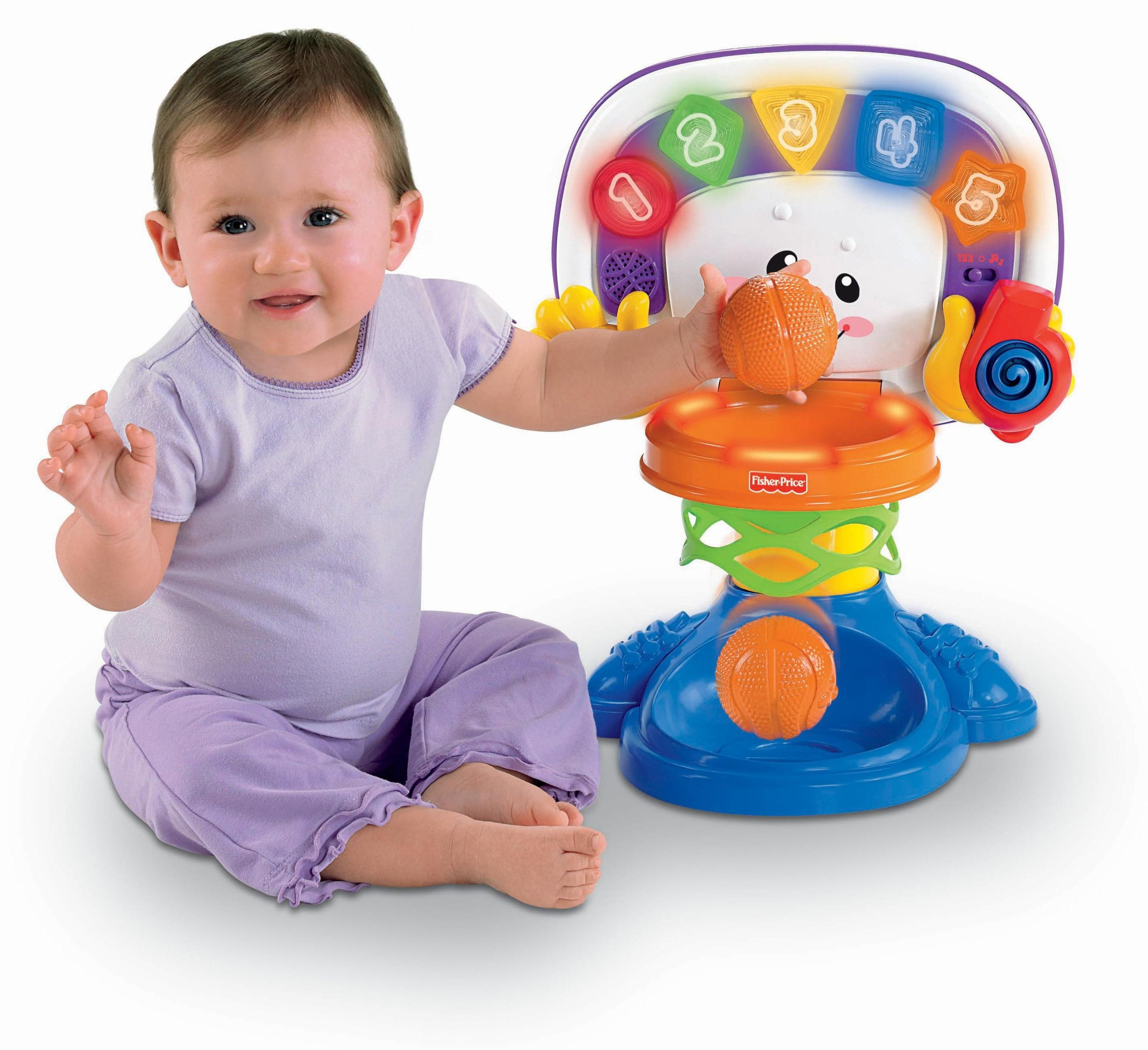 Fisher-Price Laugh & Learn Basketball by Fisher-Price