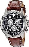 Citizen Men's Eco-Drive Titanium Chronograph Watch with Perpetual Calendar and Date, BL5250-02L