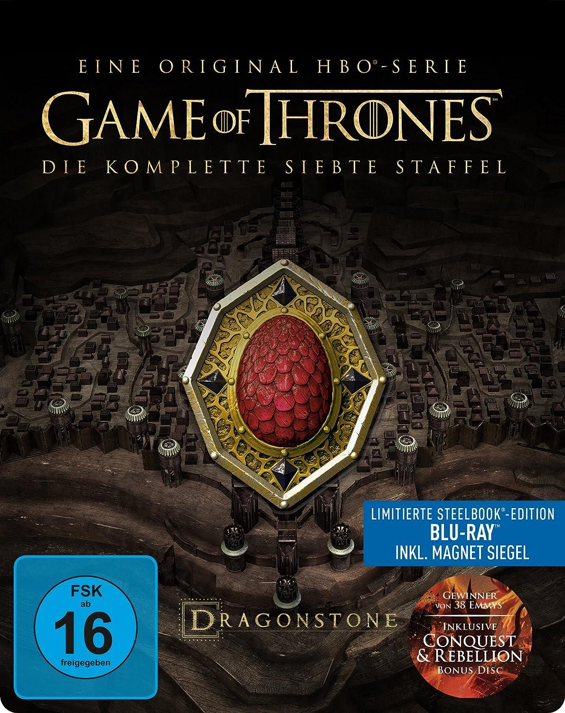 Game of Thrones - Staffel 7 - Steelbook(+ Conquest und Rebellion Bonus Disc) [Alemania] [Blu-ray]